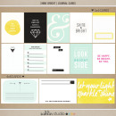 Shine Bright (Journal Cards) by Sahlin Studio - Perfect for Project Life albums!! Shine like a Diamond!