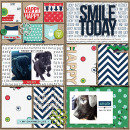 Smile Today digital Project Life page by jaye using MPM Charmed and Add-Ons by Sahlin Studio