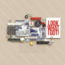 Look What I Got digital scrapbooking page by margelz using Project Mouse (SouvenEARS) by Britt-ish Designs and Sahlin Studio