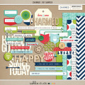 CHARMED (Kit Sampler) by Sahlin Studio - Perfect ADD On to your Project Life projects, coordinates with Memory Pocket Monthly Subscription!