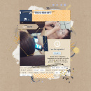 Play digital scrapbooking page by AnaPaula using The Everyday Routine by Sahlin