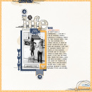 I Adore This digital scrapbooking page by T.N.Anderson using The Everyday Routine by Sahlin Studio