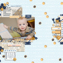 Here and now digital scrapbooking page by pne123 using The Everyday Routine by Sahlin Studio