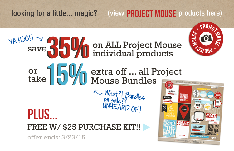 Project Mouse products