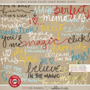 Project Mouse: Hand Drawn Words by Britt-ish Designs & Sahlin Studio & Perfect for your Project Life album!