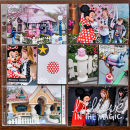 Believe in the Magic Disney Project Life pocket scrapbooking page by kristasahlin using Project Mouse Basics (No.2) by Britt-ish Designs & Sahlin Studio