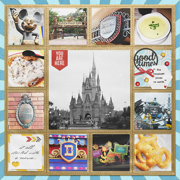 digital scrapbooking layout created by PuSticks featuring Project Mouse: Bundle no. 1 (Basics) by Sahlin Studio and Britt-ish Designs