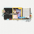 Strong Max digital scrapbooking page by rlma using Project Mouse Basics (No.2) by Britt-ish Designs & Sahlin Studio