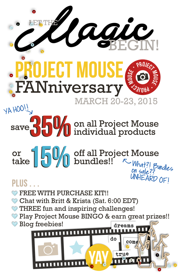 Project Mouse FANniversary Info