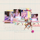 Happy Birthday digital scrapbooking page by kristasahlin using Birthday Cake by Sahlin Studio