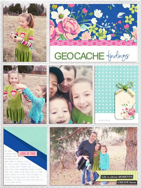 Beautiful digital scrapbook layout by aballen - using CREATE (Kit Sampler) by Sahlin Studio - AddOn to Memory Pocket Monthly MPM Subscription