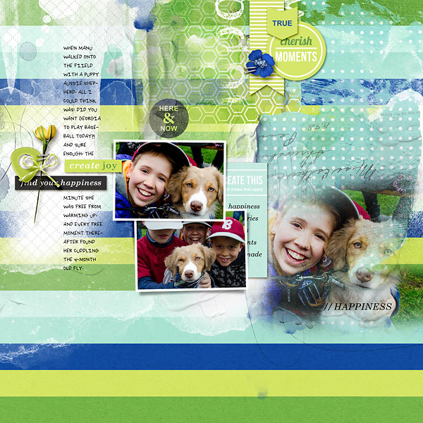Beautiful digital scrapbook layout by amberr - using CREATE (Kit Sampler) by Sahlin Studio - AddOn to Memory Pocket Monthly MPM Subscription