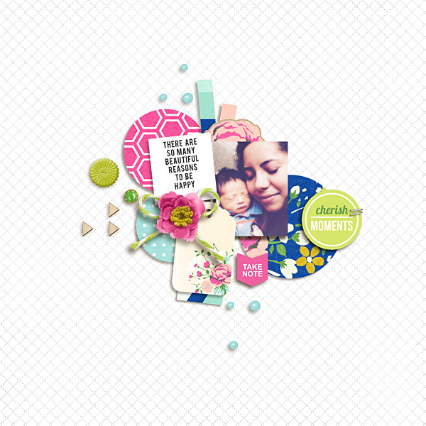 Beautiful digital scrapbook layout by raquels - using CREATE (Kit Sampler) by Sahlin Studio - AddOn to Memory Pocket Monthly MPM Subscription