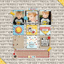 AMAZING digital scrapbook layout by pne123 using Project Mouse by Britt-ish Designs and Sahlin Studio - Perfect for your Project Life or Project Mouse Disney albums!!