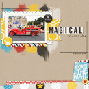 Magical digital scrapbook layout by renee82 using Project Mouse by Britt-ish Designs and Sahlin Studio - Perfect for your Project Life or Project Mouse Disney albums!!