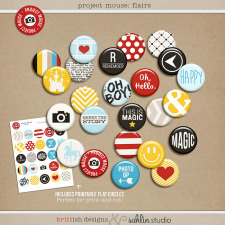 Project Mouse (Basics No.2): Flairs by Britt-ish Designs and Sahlin Studio