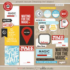 Project Mouse: Waiting For Magic by Britt-ish Designs and Sahlin Studio