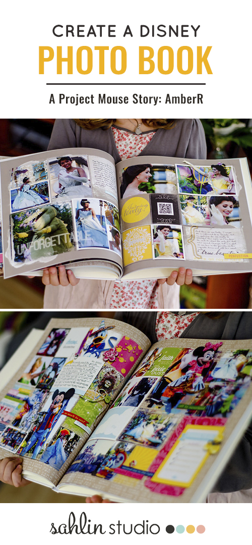 Create A Disney Photo Book - AmberR - using Project Mouse collection