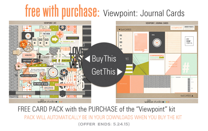 FREE WITH PURCHASE - Purchase the Viewpoint: Kit and get the Viewpoint: Journal Cards FREE!
