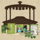 Disney Jungle Cruise digital scrapbooking page by FarrahJobling using Project Mouse (Adventure) by Britt-ish Designs and Sahlin Studio