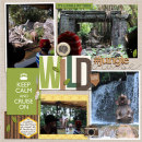 Disney Jungle Cruise digital pocket scrapbooking page by justine using Project Mouse (Adventure) by Britt-ish Designs and Sahlin Studio