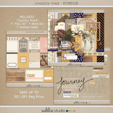 Country Road (Bundle) by Sahlin Studio