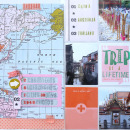 Trip of a Lifetime hybrid pocket scrapbooking double page by Cristina using Viewpoint (Kit) by Sahlin Studio by Sahlin Studio - AddOn to Memory Pocket Monthly MPM Subscription