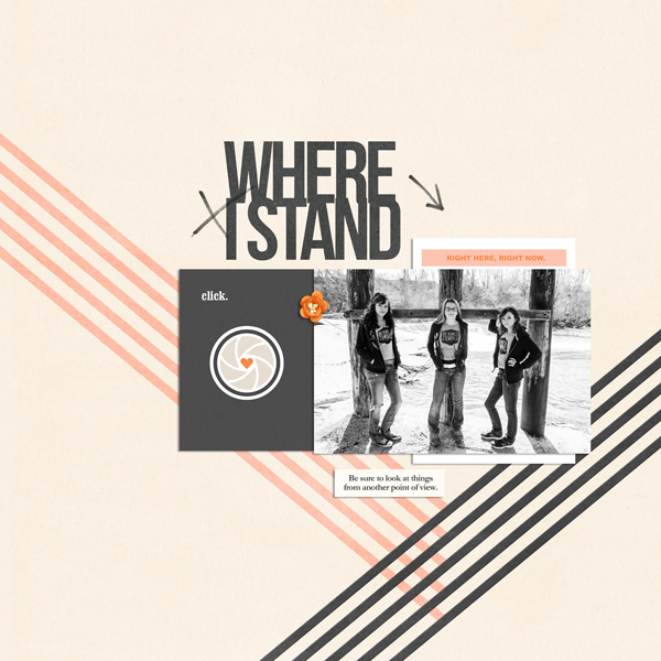 Where I Stand digital scrapbooking page by EHStudios using Viewpoint (Kit) by Sahlin Studio by Sahlin Studio - AddOn to Memory Pocket Monthly MPM Subscription