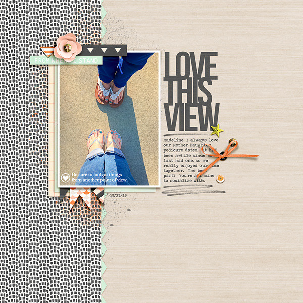 Love This View digital scrapbook page by rlma using Viewpoint (Kit) by Sahlin Studio by Sahlin Studio - AddOn to Memory Pocket Monthly MPM Subscription