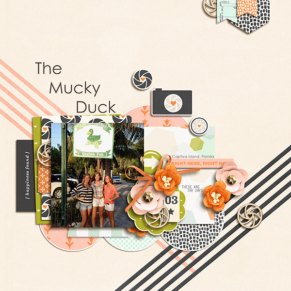 The Mucky Duck digital scrapbooking page by shaynesgirl using Viewpoint (Kit) by Sahlin Studio by Sahlin Studio - AddOn to Memory Pocket Monthly MPM Subscription