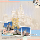 Love This View of the Sleeping Beauty Castle digital scrapbook page by yzerbear19 using Viewpoint by Sahlin Studio by Sahlin Studio - AddOn to Memory Pocket Monthly MPM Subscription