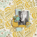 layout featuring Autumn Afternoon Collection by Precocious Paper and Sahin Studio