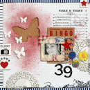 layout by amandaresende featuring butterflies: drawn and spritz by sahlin studio