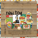 layout created by carolee featuring Vintage Labels: Sweet Sips by Sahlin Studio