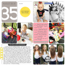 Week 35 digital pocket scrapbooking double page by britt using Celebrate Kit by sahlin studio