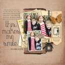 layout by kristasahlin featuring Layerable Ephemera Paper Stacks by Sahlin Studio