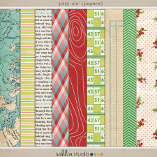 Jolly Ole' (Papers) by Sahlin Studio