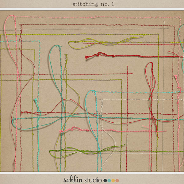 Stitching No. 1 by Sahlin Studio