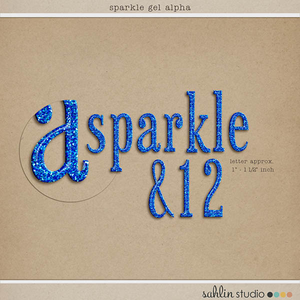 Sparkle Gel Alpha by Sahlin Studio