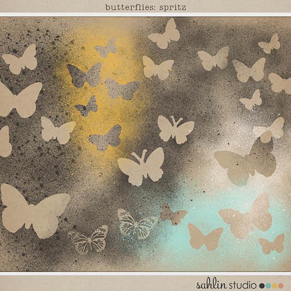 Butterflies: Spritz by Sahlin Studio