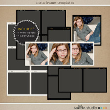 Insta-Frame Templates by Sahlin Studio