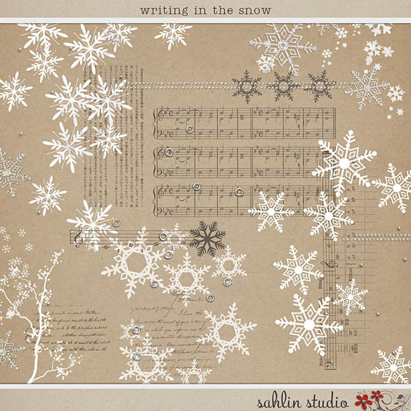 Writing in the Snow by Sahlin Studio