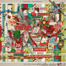 Kitschy Christmas by Jennifer Barrette and Sahlin Studio