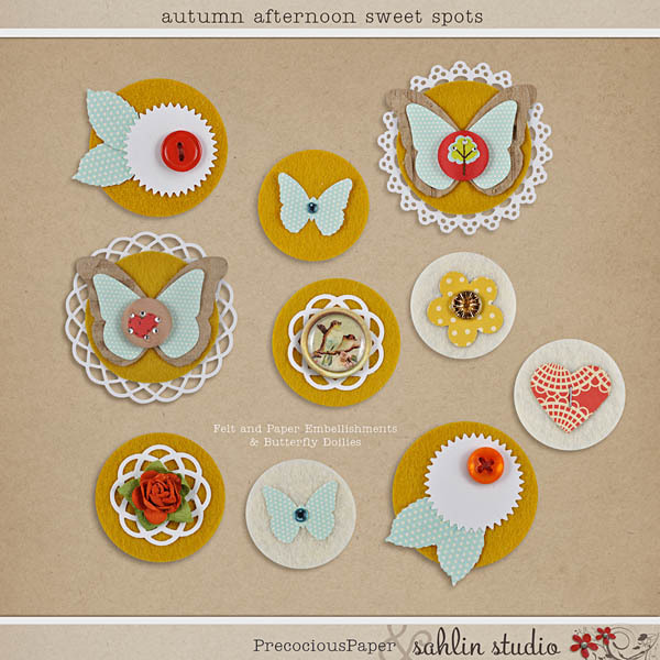 Autumn Afternoon: Sweet Spots by Precocious Paper and Sahlin Studio