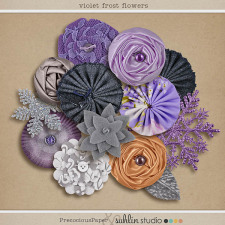 Violet Frost (Elements) by Sahlin Studio and Precocious Paper