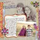 layout featuring Recycled Paper Flowers: Graffiti and Journal Graph Cards Vol. 2 by Sahlin Studio