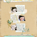 layout by mrshobbes featuring Monogrammed Note Cards by Sahlin Studio