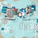 layout by momm2boyz featuring Painted: Fresh Snow Papers, Writing in the Snow and Icicles Alpha by Sahlin Studio
