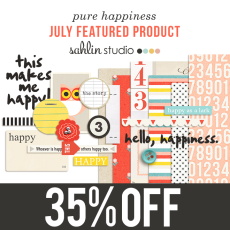 Pure Happiness by Sahlin Studio - July Featured Products