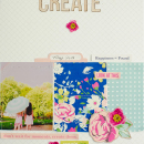 Hybrid Scrapbook Page by Brenda Smith | Sahlin Studio